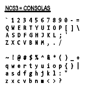 Figure 1-0 Text Styles - NCS3 - Consolas