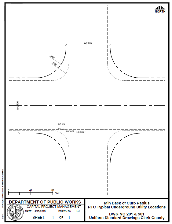 Street Intersection Plot