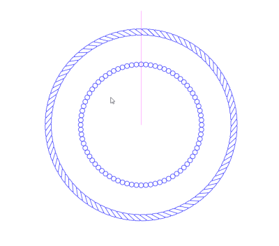 Layout - Creating PE Stamp - Inner Ring