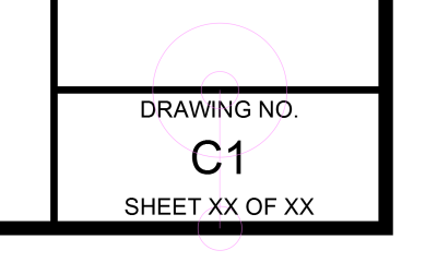 Layout - Sheet Number