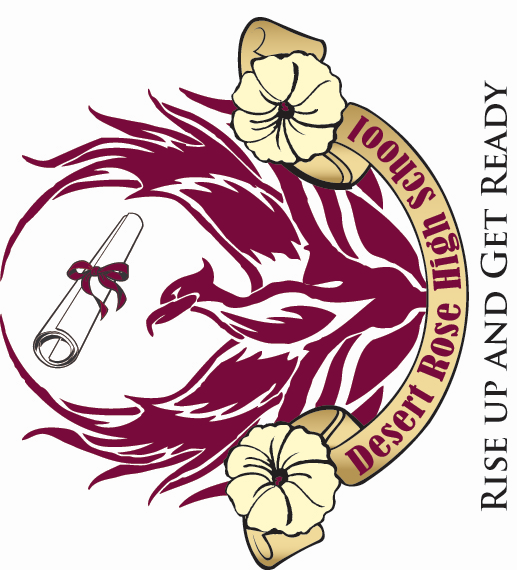 Desert Rose High School Logo 2x2 rotated 90deg