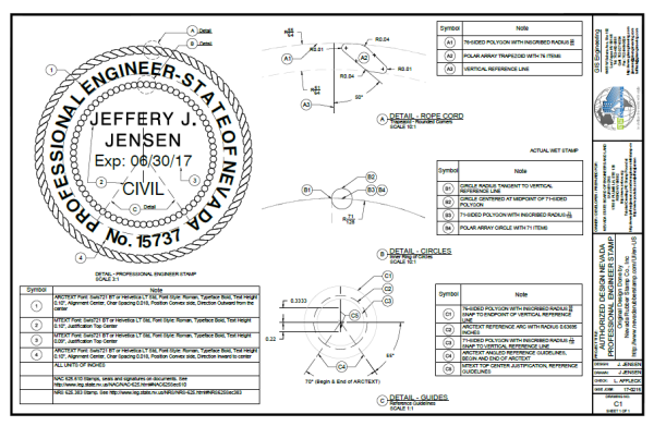 Engineer Civil Stamp Nv Jeffery J Jensen Wiki