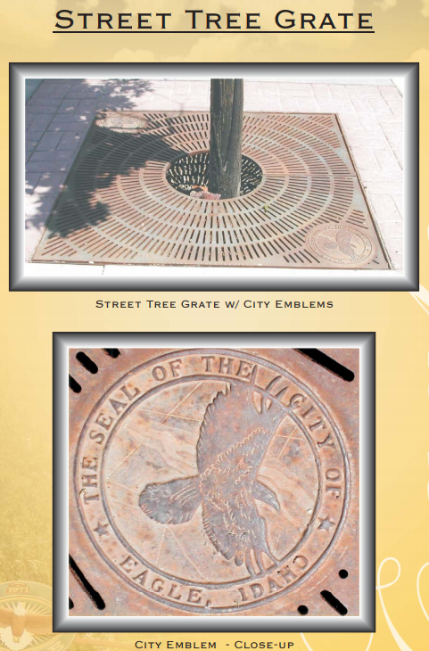 Figure 1-0 City of Eagle - Street Tree Grate