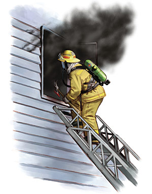 Figure 1-1 Firefighter Window Access
