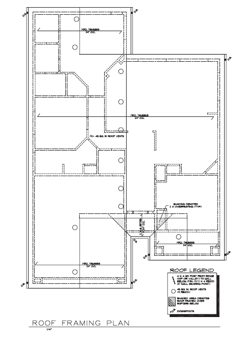 Figure 10-0 Architectural Drafting Using AutoCAD 2004 by Madsen and Palma, p. 817