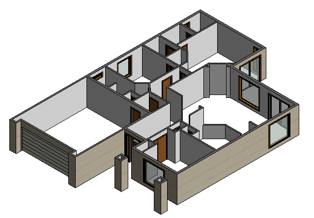 Figure 3-0 Residential A Windows in Revit