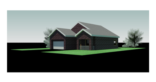 Figure 1-0 Rendering of Residential A Project