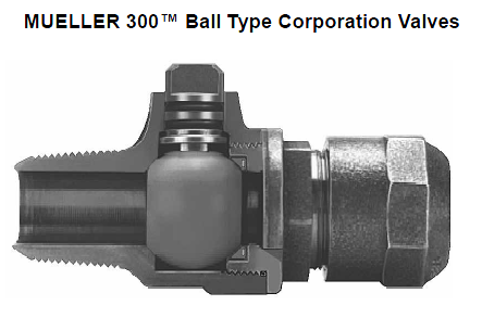 Figure 1-0 Mueller Ball Corporation Stop