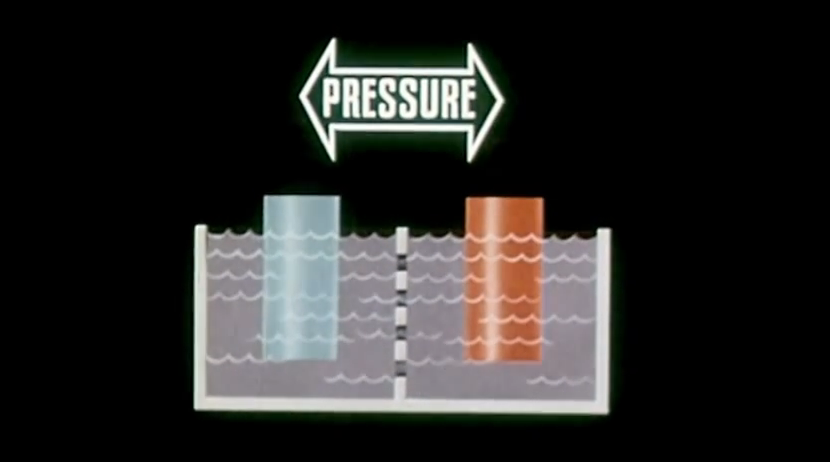 Figure 1-0 Pressure the Potential Difference between positive and negative charges