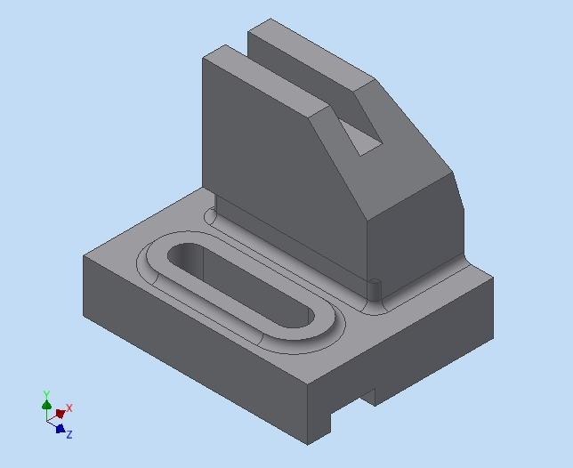 Figure 2-0 Isometric created with Inventor