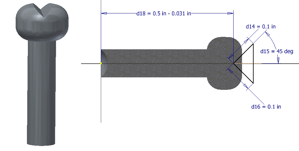 Figure 5-0 Gyroscope Top Peg