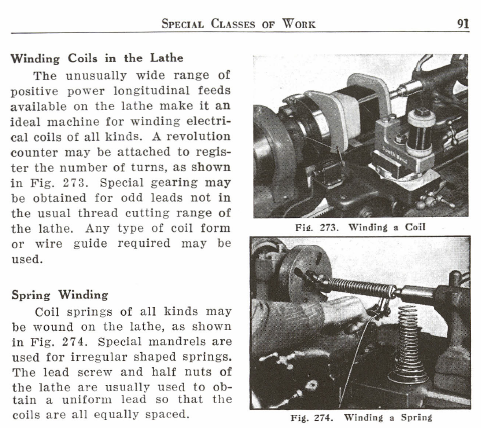 Figure 1-0 How to Run a Lathe - 1942 Edition by South Bend Lathe Works, p. 91