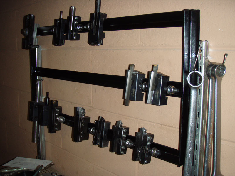 Quick Connect Toolpost Holder Rack example 2
