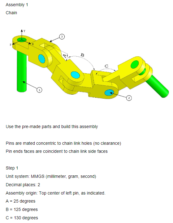 Figure 1-0 Assembly 01 Chain page 1
