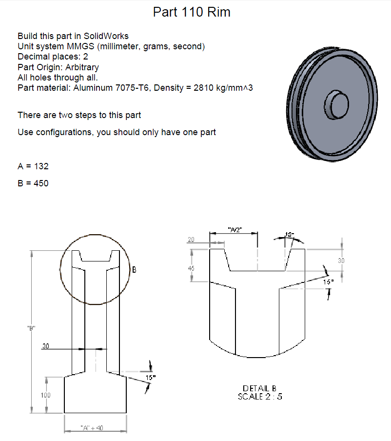Figure 1-0 Wheel Rim Description Part 1
