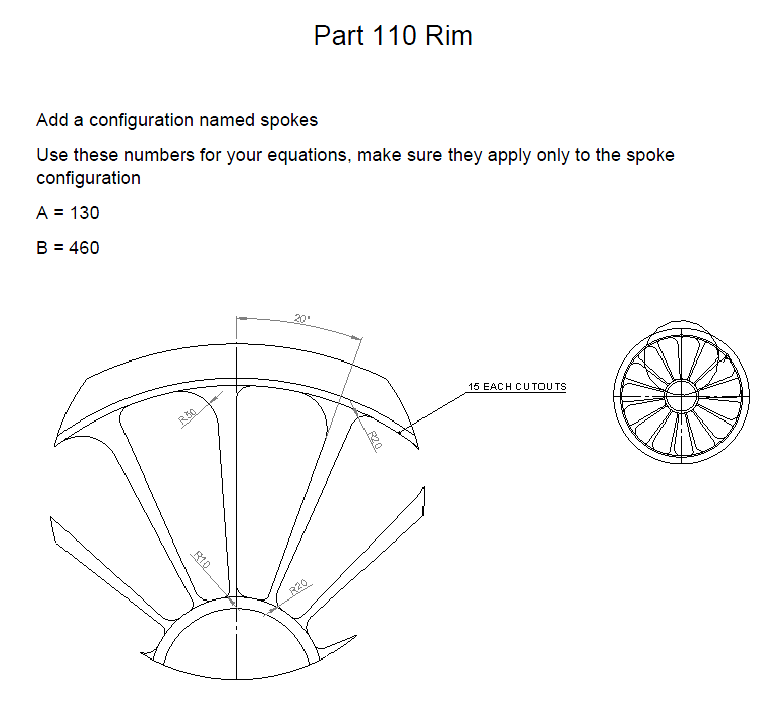 Figure 1-0 Wheel Rim Description Part 2