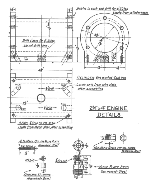 Fig. 6 Engine Details, p. 30