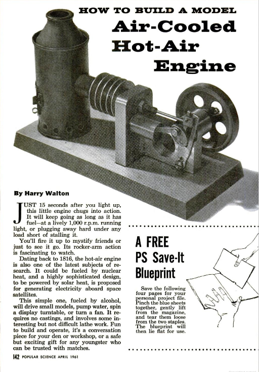 Figure 1-0 Popular Science, April 1961, p. 142