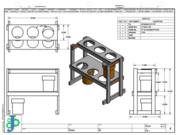 Anodizing Station Plans
