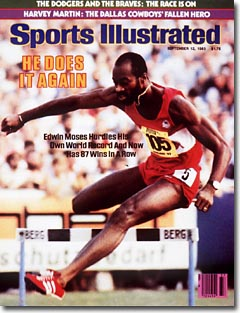 Figure 1-0 Edwin Moses on the cover of Sports Illustrated