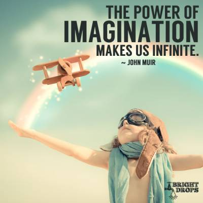 Figure 1-0 Power of Imagination by John Muir