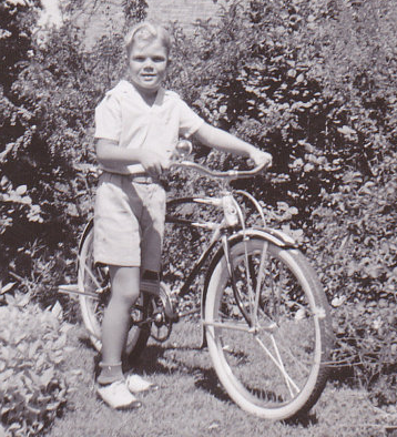 Shiny New Bike in 1940s