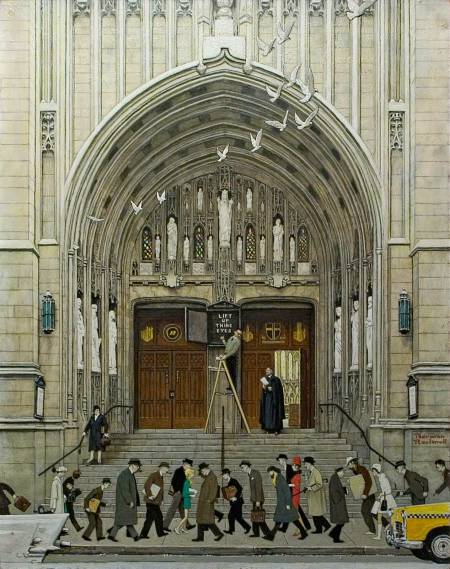 Figure 1-0 Norman Rockwell - Lift Up Thine Eyes