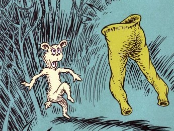 Figure 1-0 Dr. Seuss - Pair of Pale Green Pants